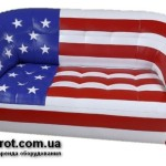 Прокат диван американский флаг Магнат в Киеве