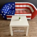 Аренда дивана Магнат Американский Флаг по Киеву