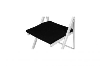 Аренда (прокат) мягких подушек черных на деревянные стулья по 15 грн\сутки