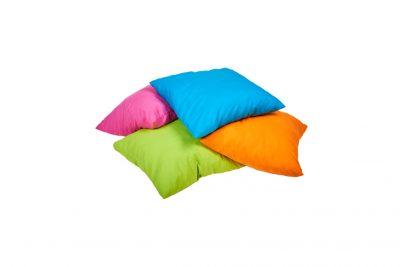 Аренда (прокат) текстильных подушек разного цвета по 30 грн/сутки