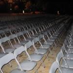 Аренда стульев складных черных Киев