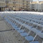 Прокат стульев белых раскладных Киев